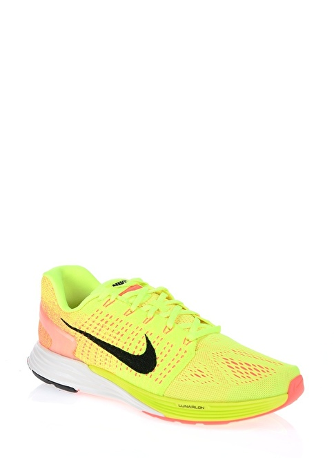 new products 5a17c 8886b 747355-700 Nike Lunarglide 7,Volt/Black-Sunset Glo
